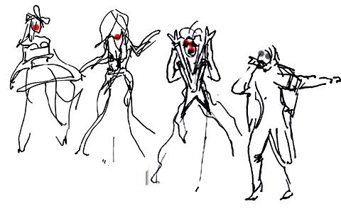 amelias magazine - jenny robins - sorapol ss13 - catwalk sketches 5