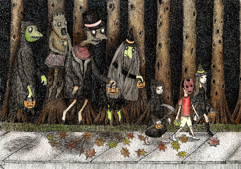 Halloween by Hannah Cooper