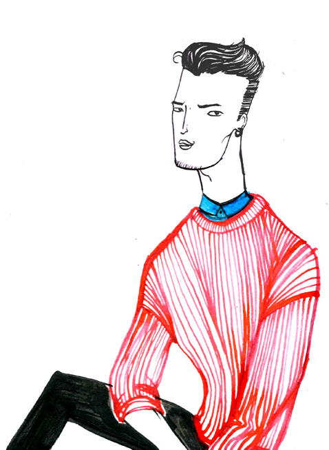 Ede Clothing Knitwear Man by Dom&Ink