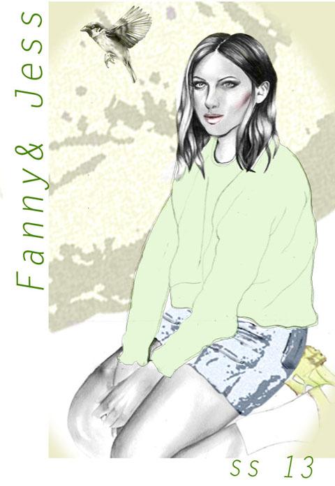 Fanny & Jessy by Rebecca Higgins