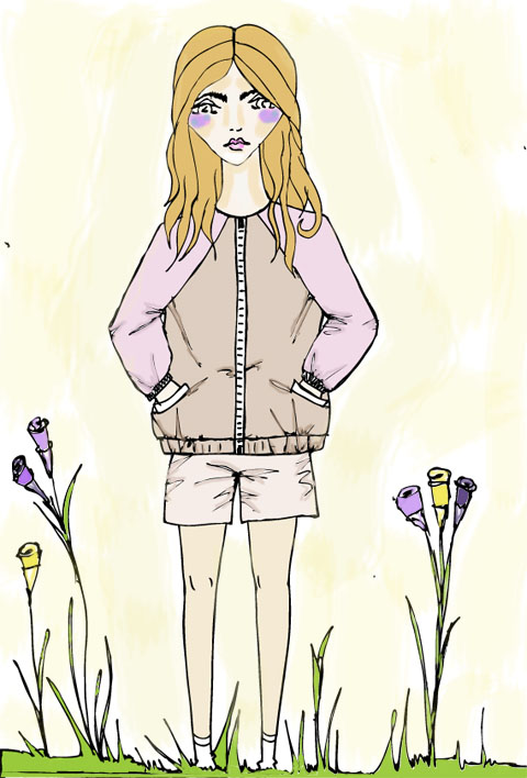 Fanny and Jessy SS2013 by Shy Illustrations