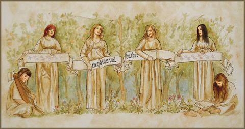 Mediaeval Baebes by Rhiannon Fraser