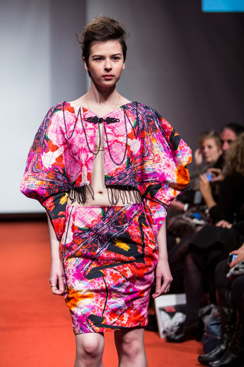 amelias magazine - london college of fashion - paradise lost - Digital Catwalk Qimei