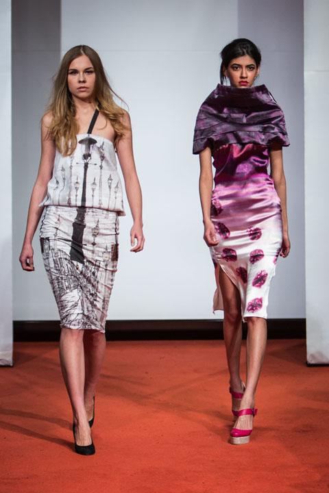 amelias magazine - london college of fashion - paradise lost - Digital Catwalk - Sunny De Las Alas 2 dress