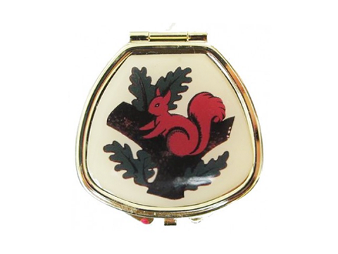 Andrea Garland Pill Box:Lip Balm - Squirrel