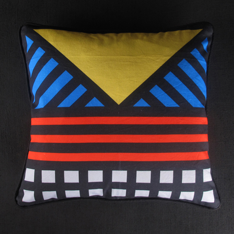 Darkroom cushion Camille Walala