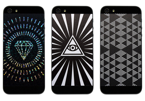 GlyphicBlack_Phone Pop vinyl iphone backs