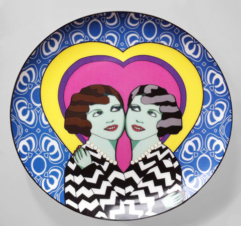 Grande Dame Madam & Eve Limited Edition Porcelain Dinner Plate