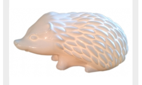 Hedgehog lamp by white rabbit england