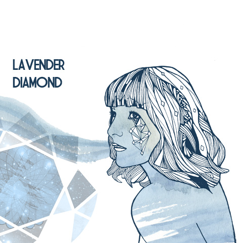 LAVENDER DIAMOND by Clare Corfield Carr