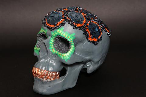 Lauren Baker skull Frankie
