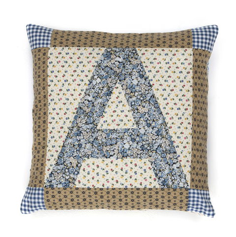 Lu Flux Alphabet A cushion