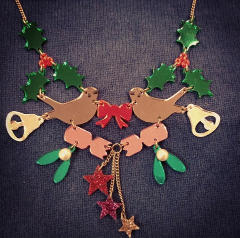 Tatty Devine Christmas Spirit necklace