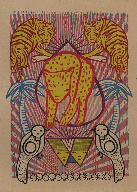 Tiger Island print by Craig Yamey