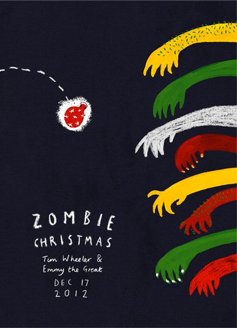 Zombie Christmas by Lorna Scobie