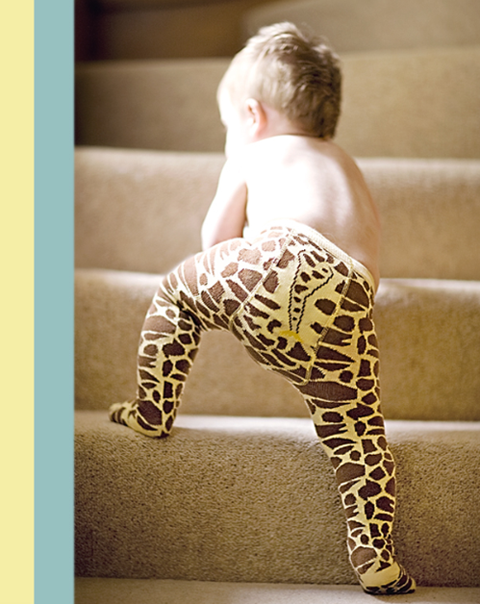baberoo giraffe tights