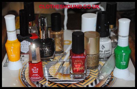 clothes hound nail art christmas wheeltools