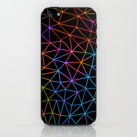 fimbis iphone cover geometric glow
