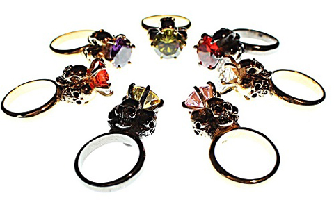 jewel heritage four skulls rings