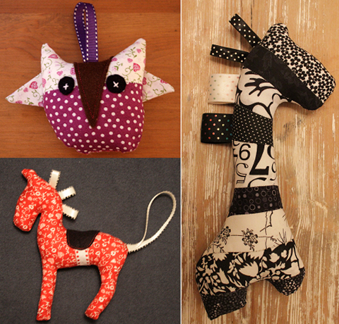 little night owl giraffe, owl horse toy