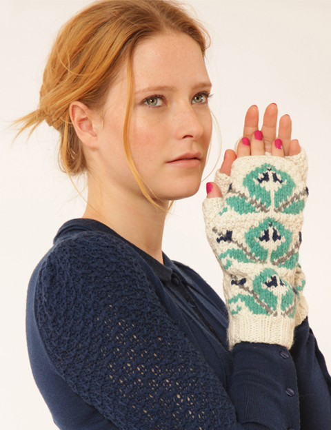 lowie fingerless gloves