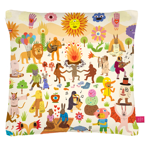 ooh deer big_chill_jack teagle cushion