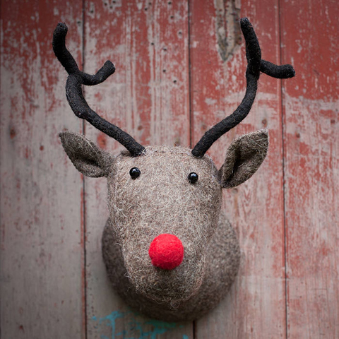 reindeer head by armstrong ward
