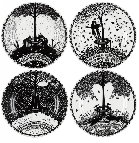 rob-ryan-set-of-4-this-was-our-place-china-plates
