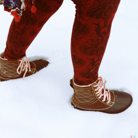 Crocs Allcast Leather Duck Boot