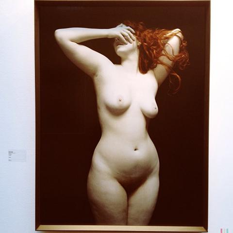 London Art Fair 2013 Nadav Kander Bodies