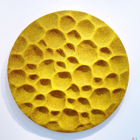 London Art Fair 2013 Yellow Pollen by Simon Allen