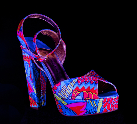 Terry de Havilland Grande Dame shoes UV