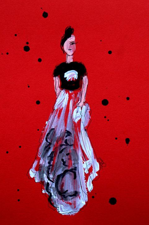 Holly Fulton - lfw a/w 2013 - amelias magazine - Isher Dhiman