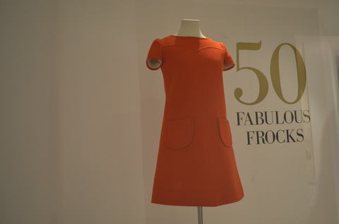 50 Fabulous Frocks Exhibition, Fashion Museum, Bath