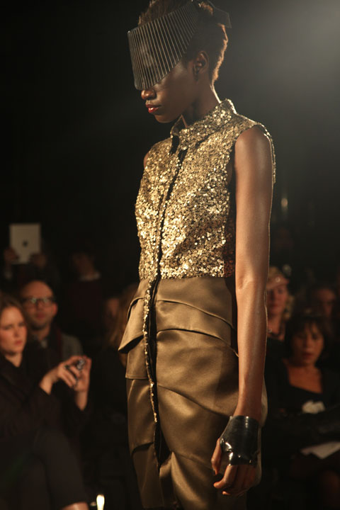 Ashley Isham AW 2013-photo by Amelia Gregory