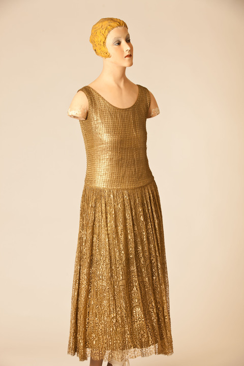 Dress by Poiret part of 50 Fabulous Frocks Exhibition.