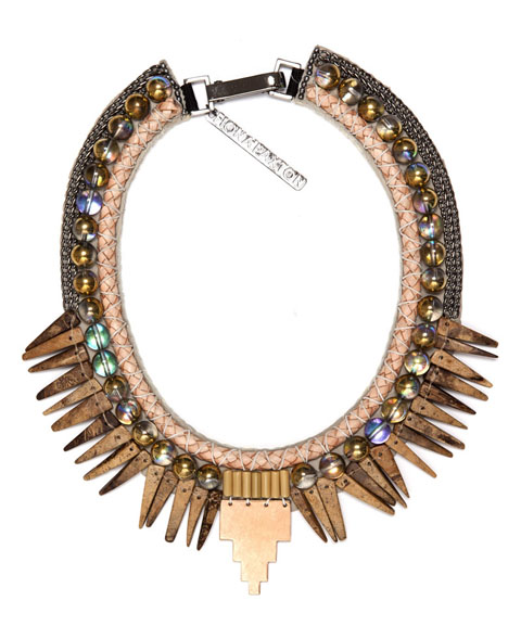 Fiona paxton coral and wood necklace £175 style-passport