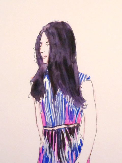 LFW Yi Xie by Angela Lamb