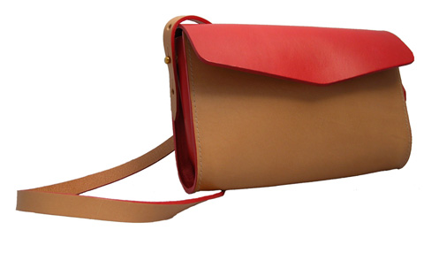 M.Hulot Strapped howe red bag