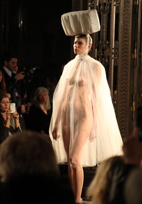 Pam Hogg AW 2013 photo by Amelia Gregory