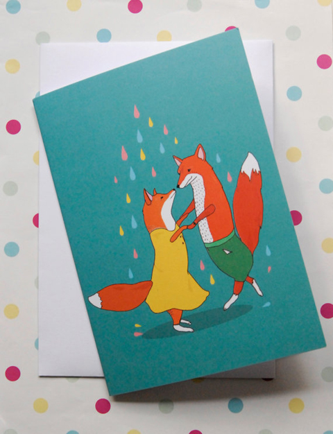 Stacie Swift Dancing Foxes