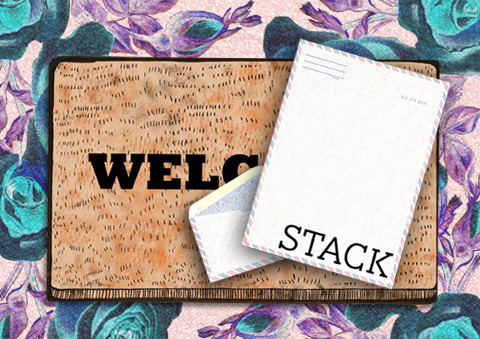 Stack Magazines by Jo Cheung