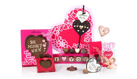Thorntons Be My Valentine chocolate selection my voucher codes