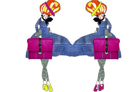 Kelly Moore Chapel Camera Handbag by Veronica Rowlands