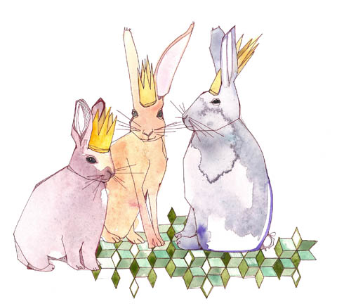 Easter Bunnies by Katie Eberts