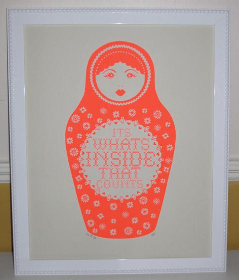 Hazel Nicholls babushka print