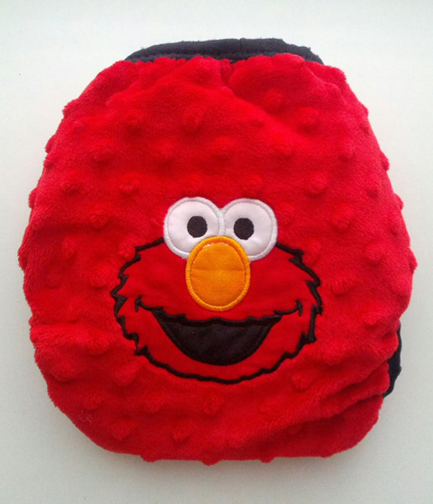 Elmo diaper cover BaBeBottoms etsy
