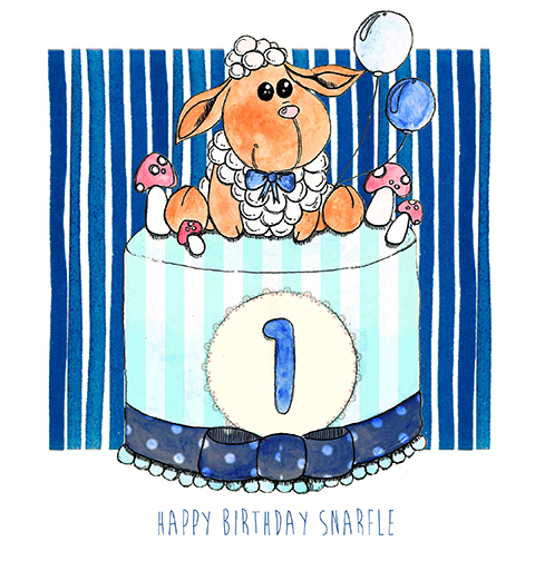 First birthday by Bethany Wigmore