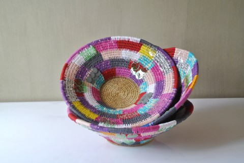 GoneRural Patchwork Baskets