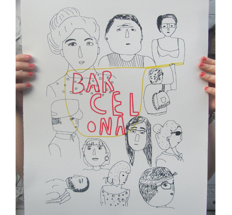 Homage to catalonians by Katrine Brosnan